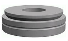 Radial spherical plain bearings steel on steel, serie GE...AX