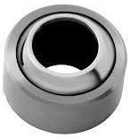 Spherical plain bearings - stainless steel on Ptfe type G..DNRBF (maintenance free)