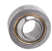 Spherical plain bearing steel on heavy-duty bronze, maintenance required type G...