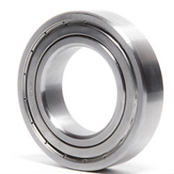 Stainless steel deep groove ball bearings 60..ZZ, 62..ZZ