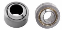 Spherical plain bearings, steel on bronze, maintenance required 2RS sealing