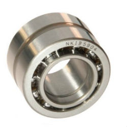 Needle roller/angular contact ball bearings NKIA / NKIB