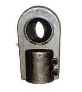 Ball joint ends, coupling: steel/steel, type MA...D et MA...D-FO